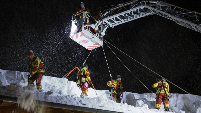 Schneekatastrophe in Inzell 2019